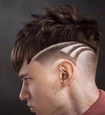 这个发型有点帅哦